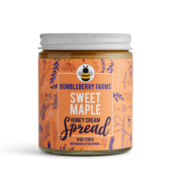 Sweet Maple Honey Cream Spread