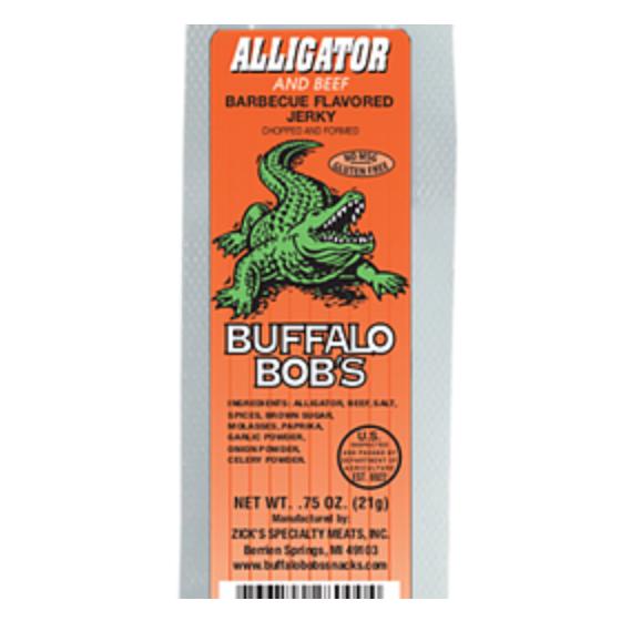 Alligator BBQ Style Jerky