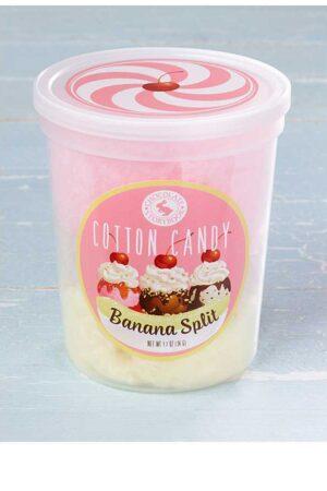 Banana Split Cotton Candy