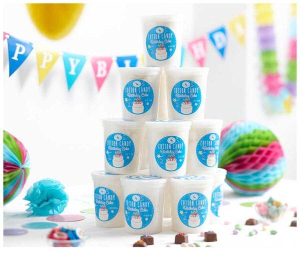 Birthday Cake Cotton Candy
