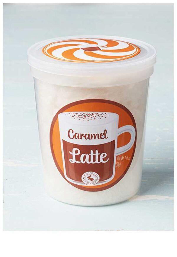 Caramel Latte Cotton Candy
