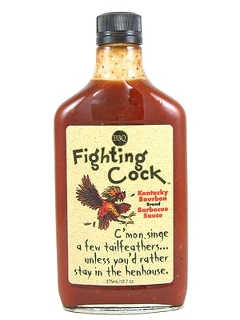 Fighting Cock Kentucky Bourbon BBQ Sauce