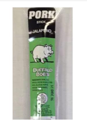 Buffalo Bob's Jalapeno Pork Stick