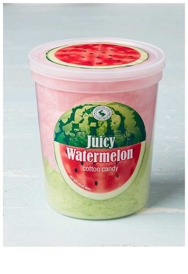 Juicy Watermelon Cotton Candy