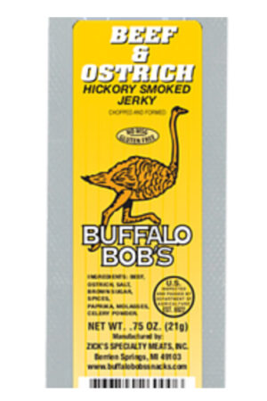Buffalo Bob's Ostrich Jerky
