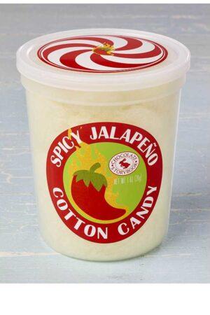 Spicy Jalapeño Cotton Candy