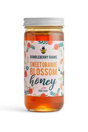Sweet Orange Blossom Honey