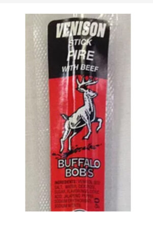 Buffalo Bob's Venison Fire Stick