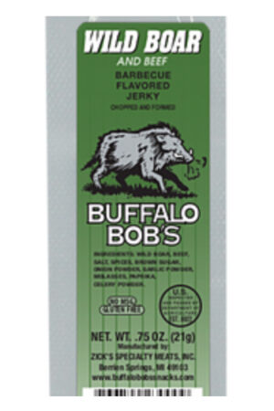 Buffalo Bob's Wild Boar Jerky