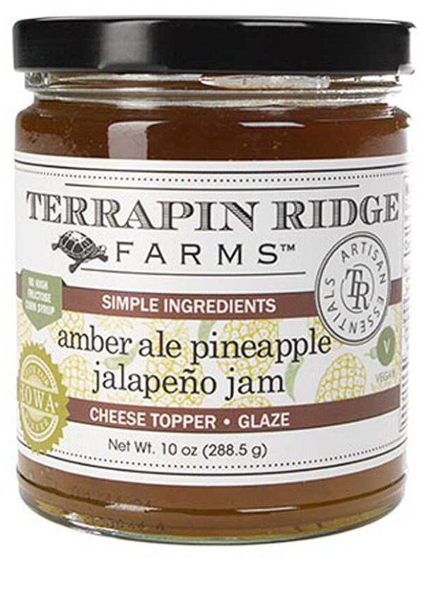 Amber Ale Pineapple Jalapeño Jam