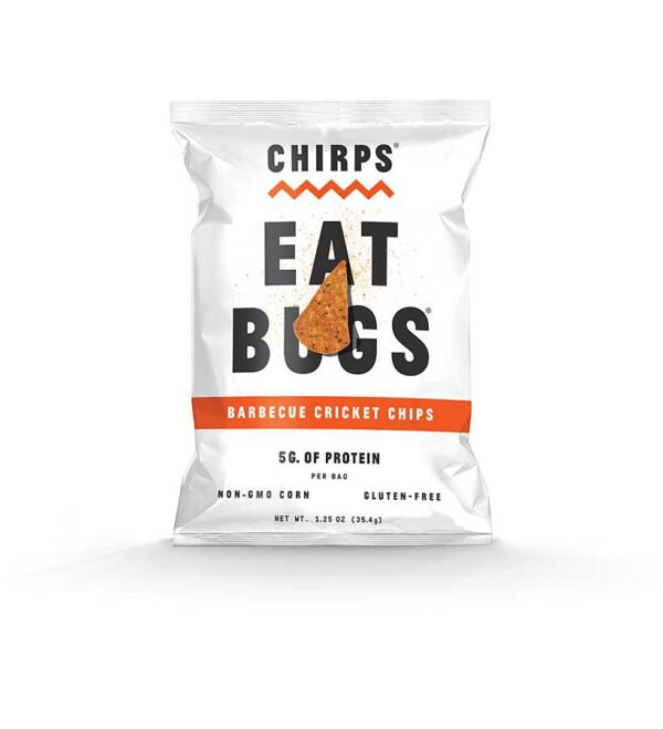 Chirps-Eat Bugs - Barbeque Cricket Protein Chips