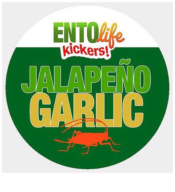 EntoLife Kickers – Jalapeño Garlic Crickets