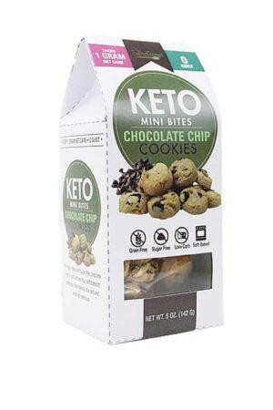 Too Good Gourmet Keto Mini-Chocolate Chip Cookies