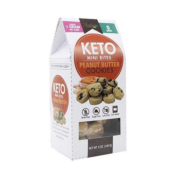 Too Good Gourmet Keto Mini-Peanut Butter Cookies