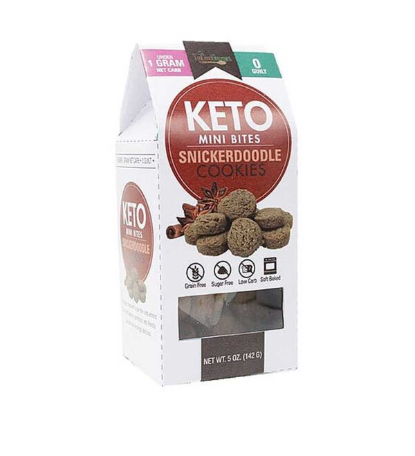 Too Good Gourmet Keto Mini-Snickerdoodle Cookies