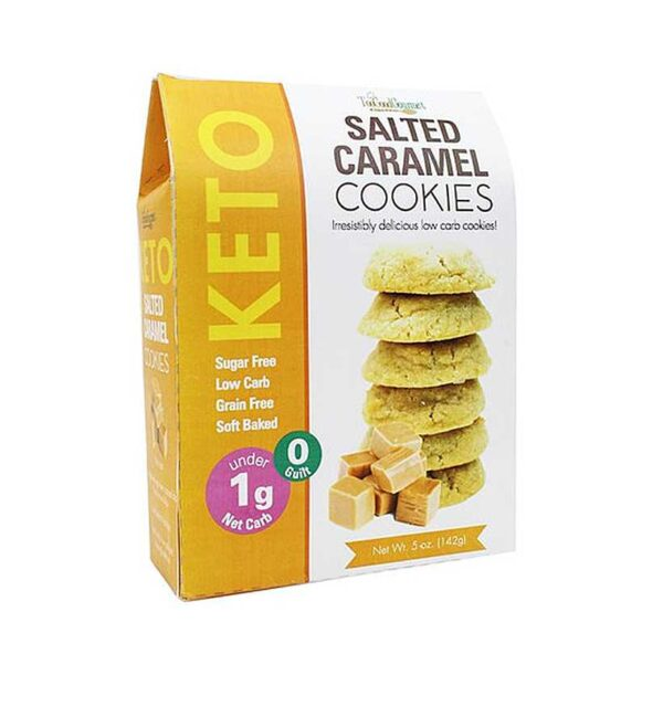 Too Good Gourmet Keto Salted Caramel Cookies