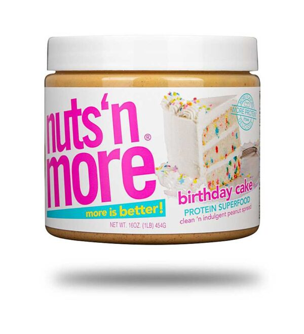 Nuts 'n More Birthday Cake Peanut Butter Spread