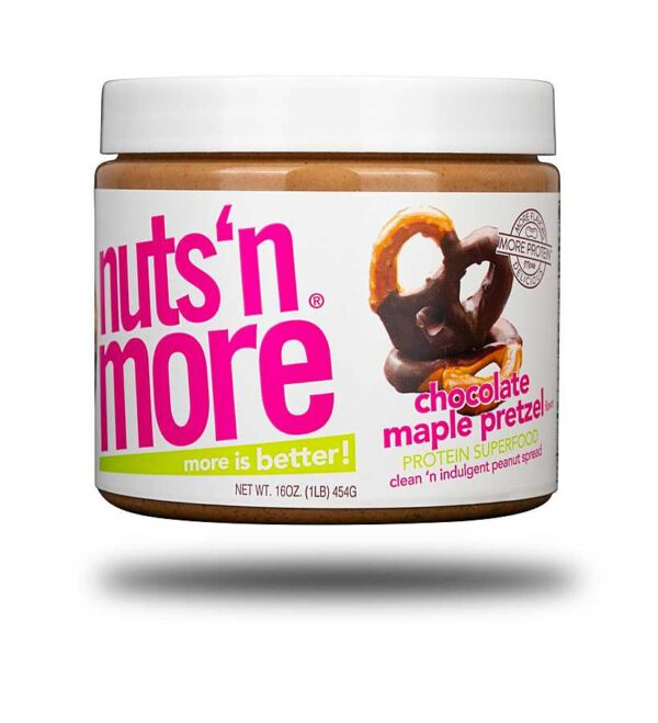 Nuts 'n More Chocolate Maple Pretzel Peanut Butter Spread