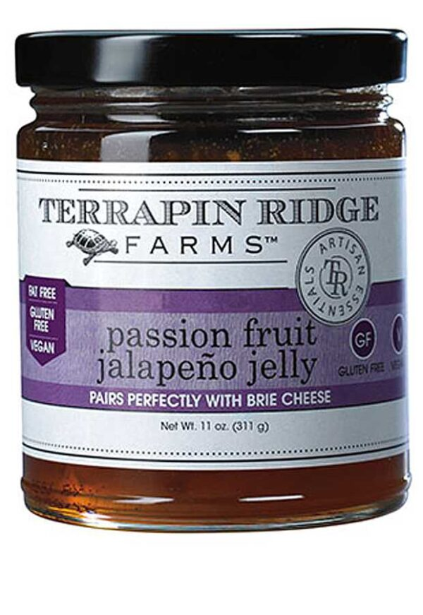 Terrapin Ridge - Passion Fruit Jalapeno Gourmet Jelly